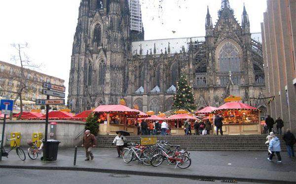 oostende -kerstmarkt