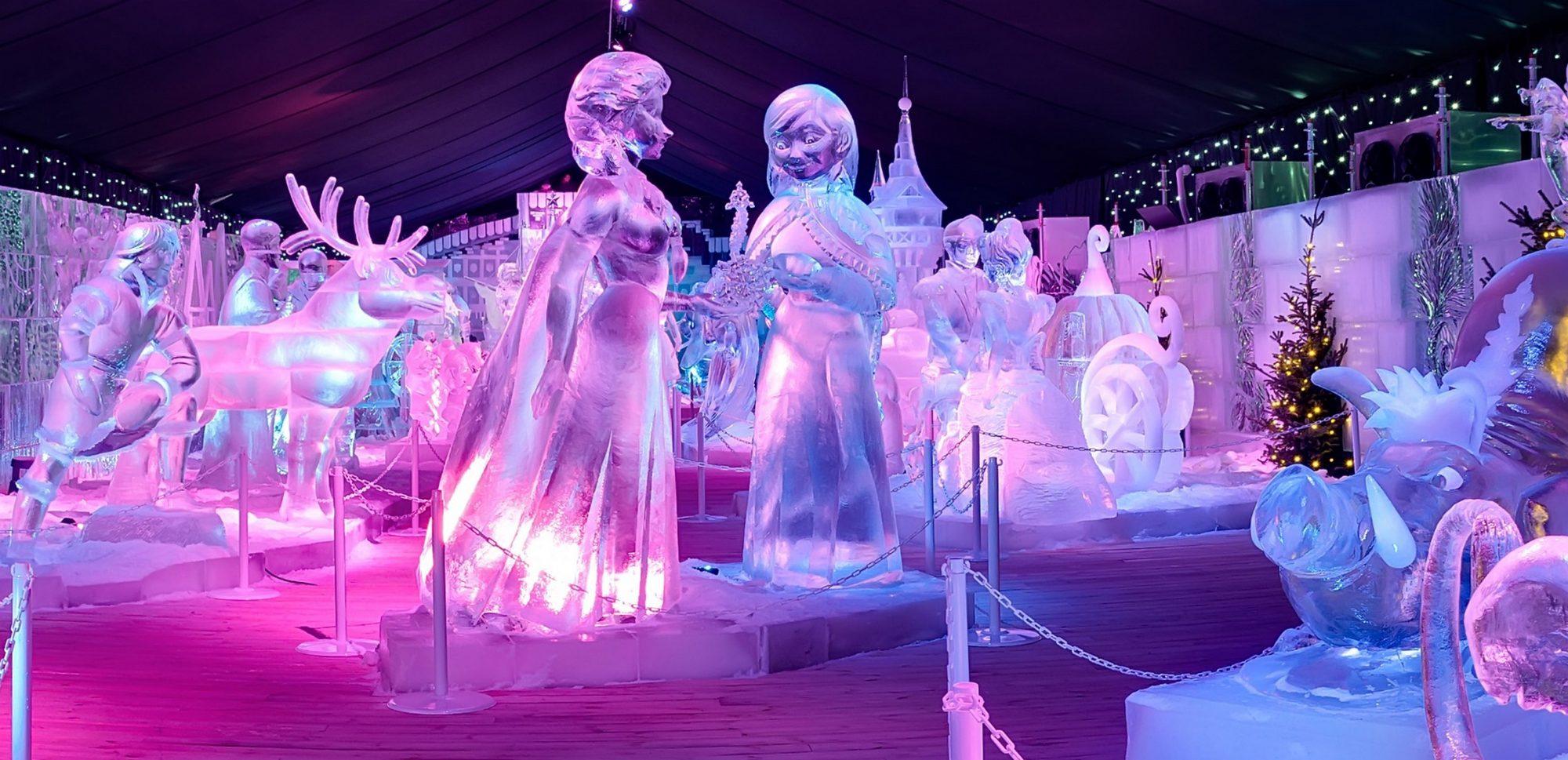 ijssculpturen brugge