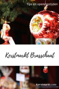 Kerstmarkt Brasschaat in België