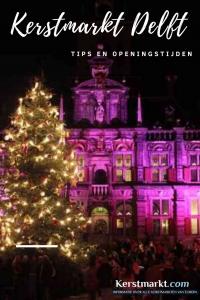Kerstmarkt Delft in Nederland