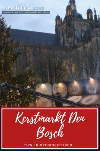 Kerstmarkt Den Bosch in Nederland