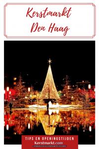 Kerstmarkt Den Haag in Nederland