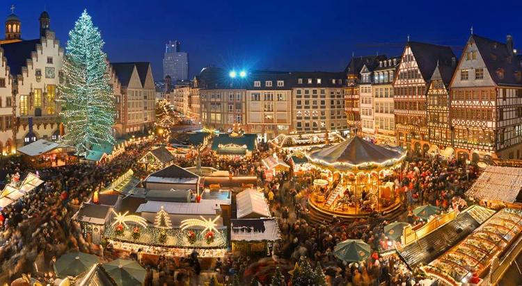 Erfurt kerstmarkt kraampjes