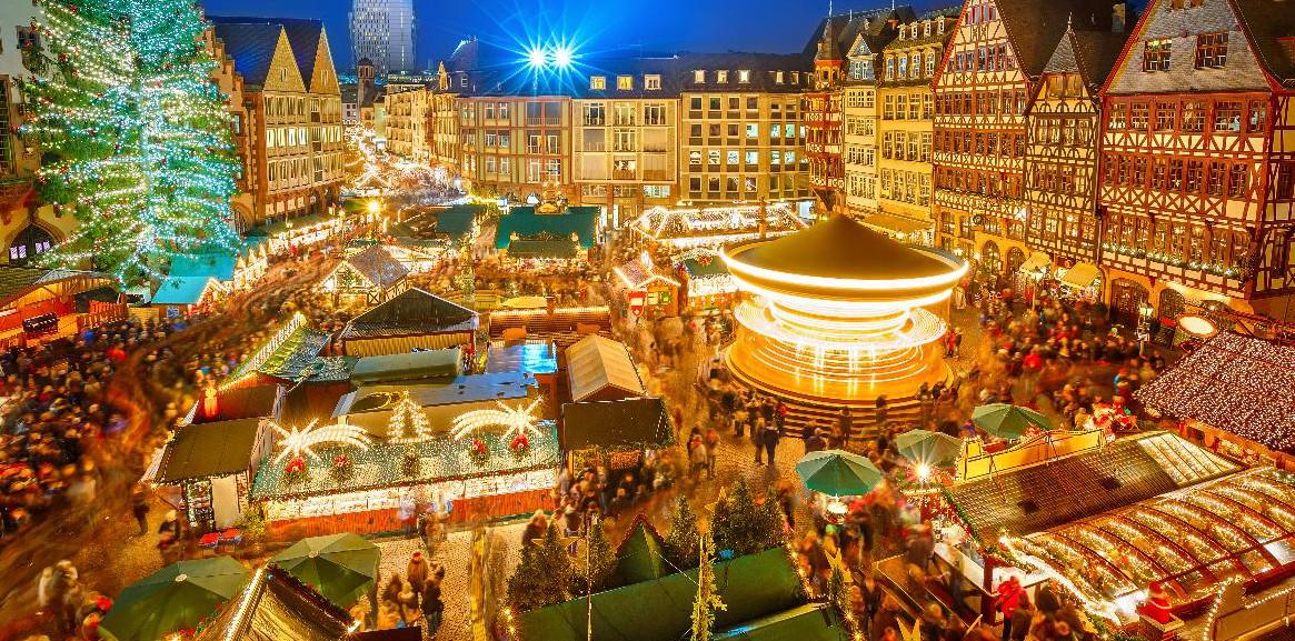 Plattegrond Kerstmarkt Essen Duitsland Ritchie