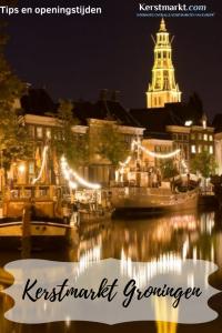 Kerstmarkt Groningen in Nederland