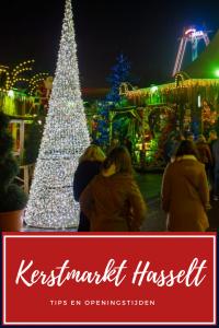Kerstmarkt Hasselt in België