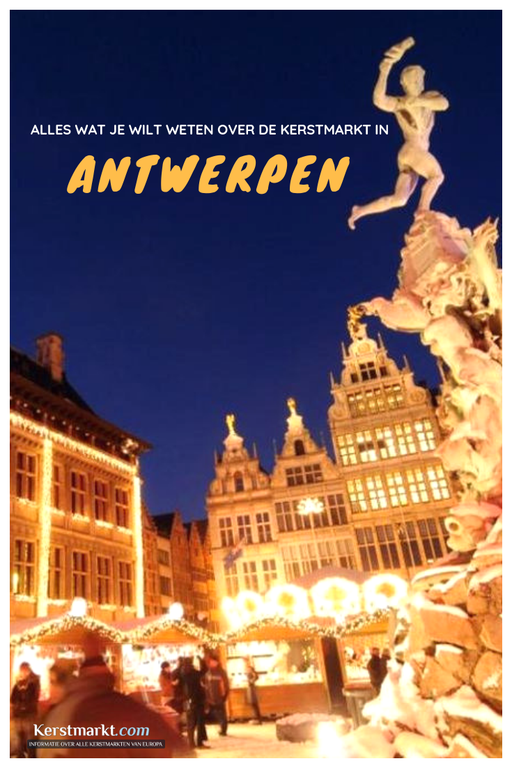 Kerstmarkt Antwerpen 2019