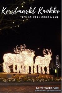 Kerstmarkt Knokke in België