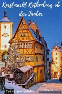 Kerstmarkt Rothenburg ob der Tauber