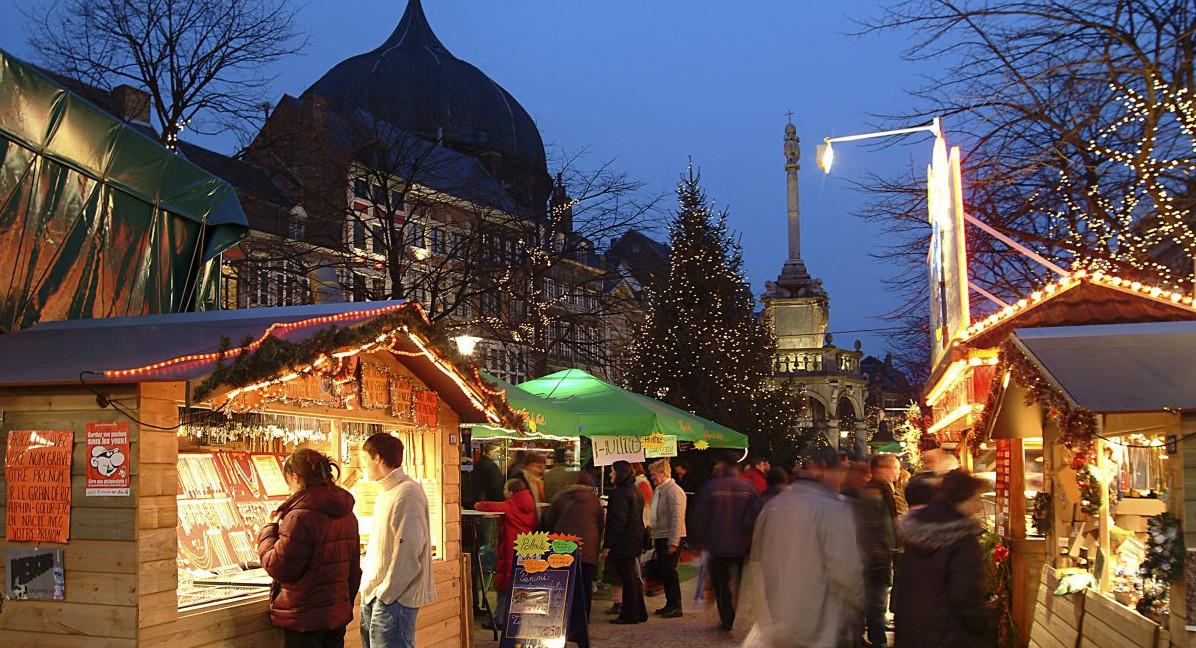 Kerstmarkt Luik 2019