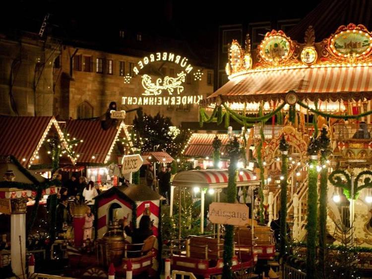 Neurenberg Kerstmarkt Avond