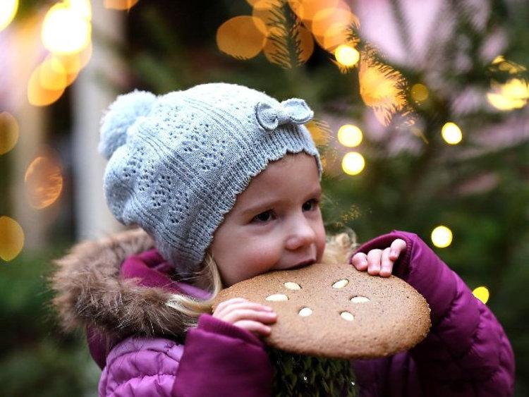 Neurenberg Lebkuchen Kinder Kerstmarkt