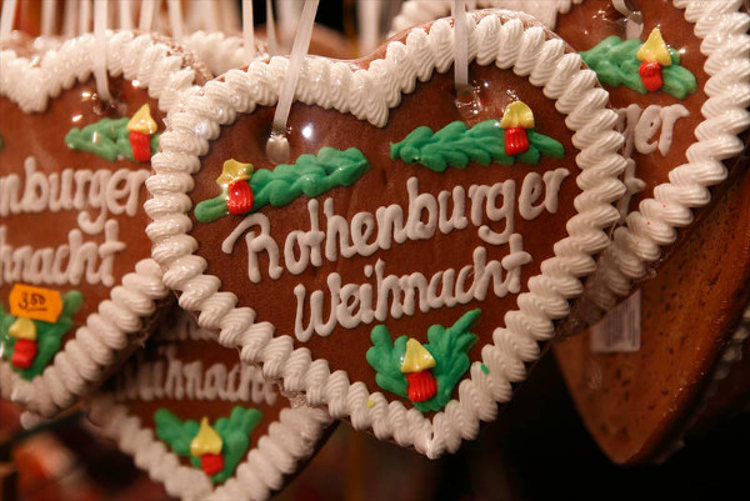Rothenburg Ob Der Tauber Weihnacht