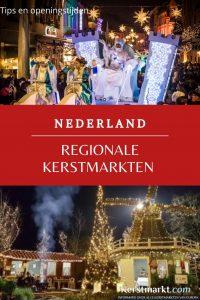 Regionale kerstmarkten in Nederland