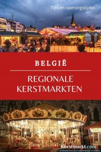 Regionale kerstmarkten België