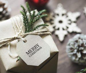 cadeau voor kerst