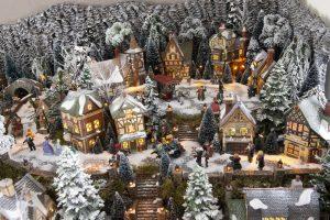 Kerstsfeer dorp