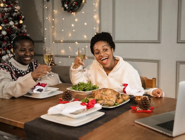 online kerstdiner