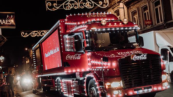 Coca-Cola kersttruck